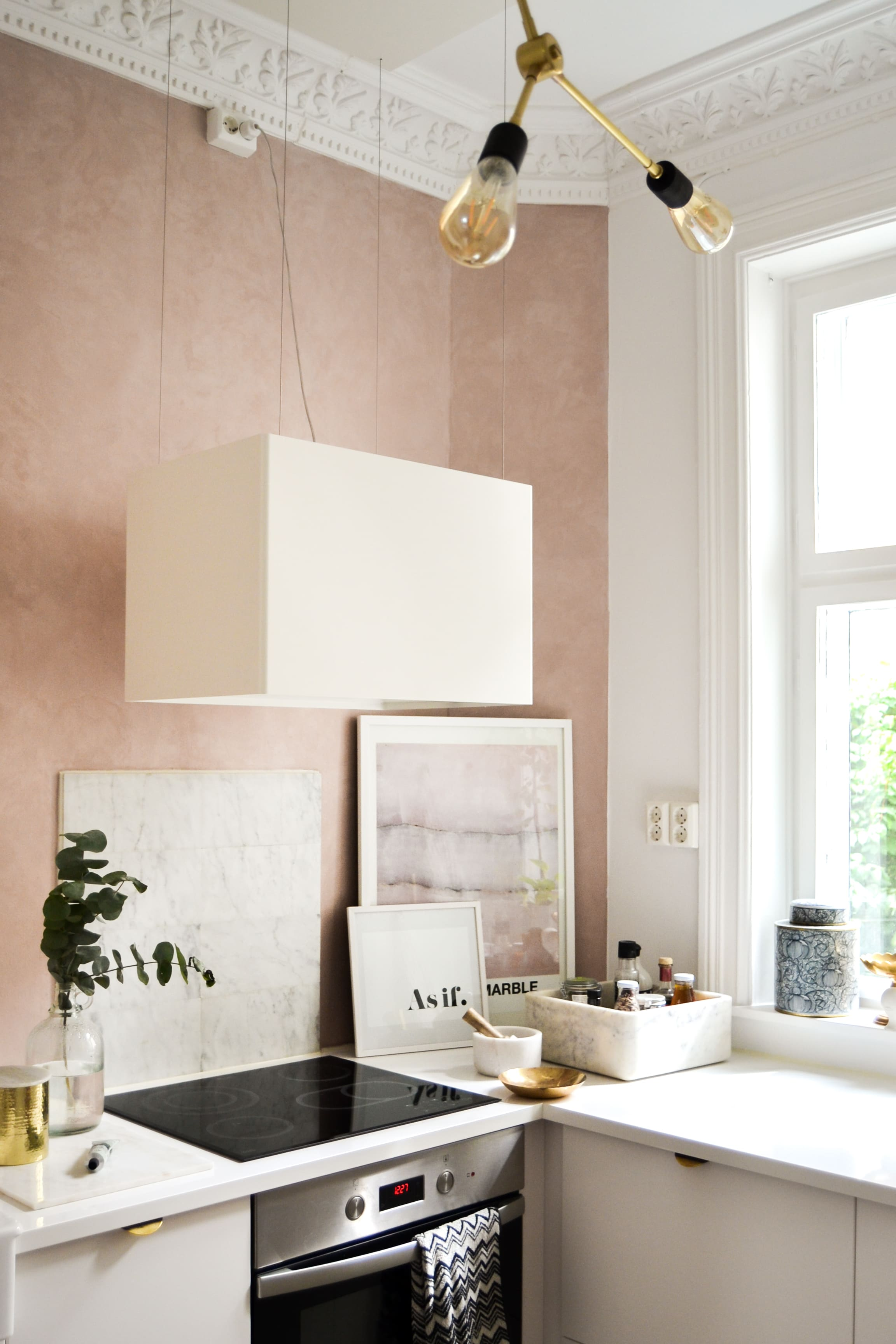 Marrakech Walls – rosa Marmor an der Wand? -Rosé Marble